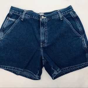 Calvin Klein Vintage High Rise Carpenter Shorts